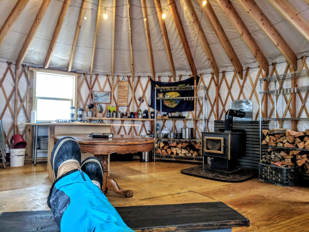 Summer – Jewel Basin Yurt on